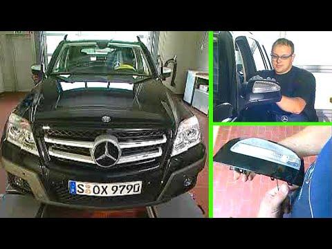 Mercedes Benz Glk Au 223 Enspiegel Komplett Zerlegen W204 9