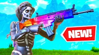 *NEW* WEAPON SKINS in FORTNITE: BATTLE ROYALE
