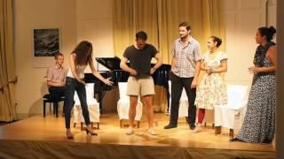 Meisterkurs für Gesang: Improvisation mit David Thorner