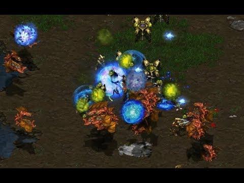EPIC - Draco (P) V InControl (Z) Tau Cross - StarCraft  - Brood War REMASTERED
