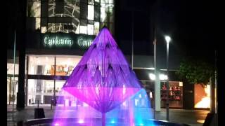 Canberra Times Fountain Lighting Program 2013 By Mick Pedder