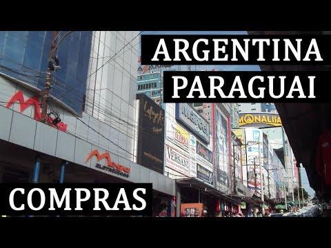 FAZENDO COMPRAS NO PARAGUAI E DUTY FREE DA ARGENTINA