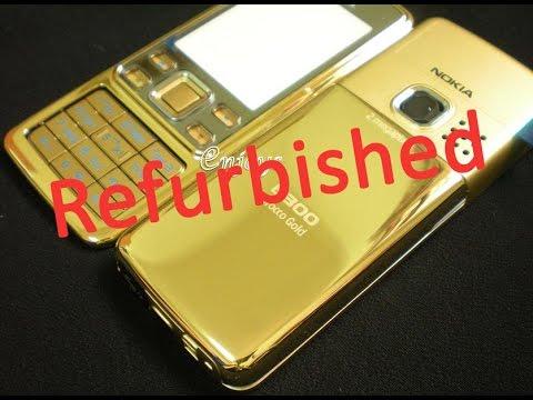 Посылка из Китая 2016 - Nokia 6300 Gold (Refurbished)