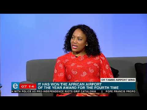 OR Tambo International Airport named the African Airport of the Year
