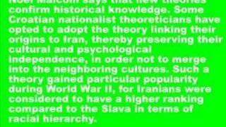 The Iranian Origin of Croats - Cravat Connection