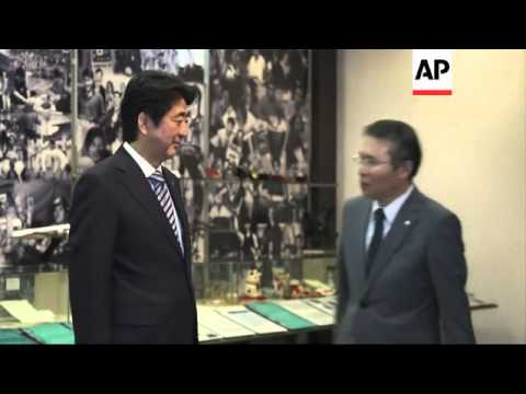Japanese PM meets Japanese diaspora in Sao Paulo before leaving Brazil