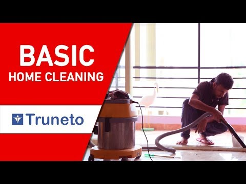 Basic Home Cleaning Service - Truneto
