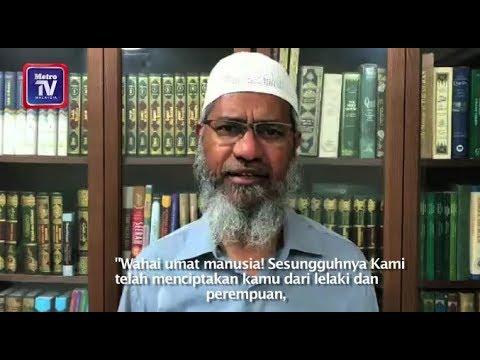 'Saya mohon maaf'  -  Zakir Naik