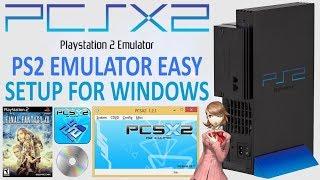 PCSX2 PS2 Emulator Setup For Windows! (With Controller Setup)