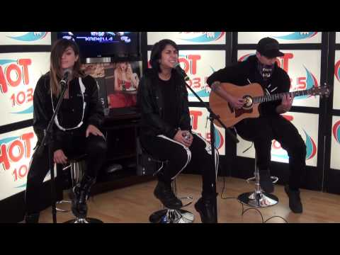 Hot Behind The Scenes with Krewella: Live For The Night (Acoustic)