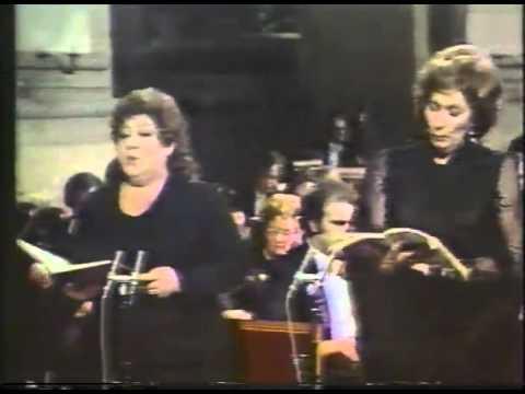 """Nello Santi-Requiem-G. Verdi-V. Liljana Molnar Talajic/ Mignon Dunn-""""Recordare"""""""