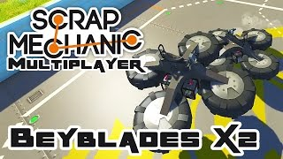 Beyblades X2 - Let's Play Scrap Mechanic Multiplayer - Part 215