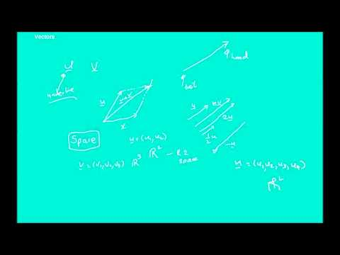 Elementary Linear Algebra  Lecture 16 - Euclidean Vector Spaces (part 1)