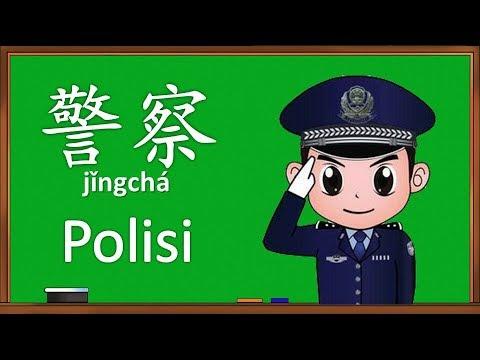 Belajar Nama Pekerjaan Dalam Bahasa Mandarin