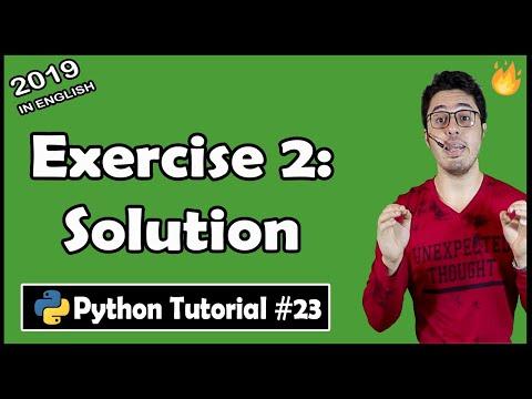 exercise-2:-solution-+-shoutouts-|-python-tutorial-#23