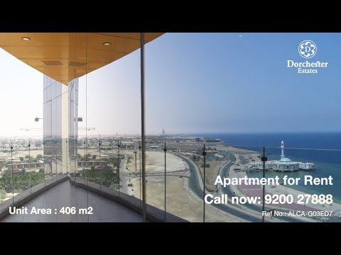 ALCA-G03ED7  Waterfront Apartment for Rent at Beach Tower, Jeddah