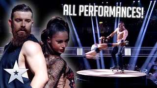 Billy & Emily England - ALL PERFORMANCES | Britain's Got Talent