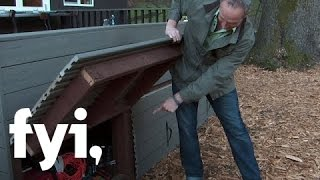 Tiny House Nation: Clever Outdoor Storage S2, E5 | Fyi