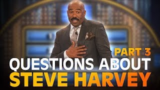 Funny Family Feud questions… about STEVE HARVEY! | Family Feud | PART 3