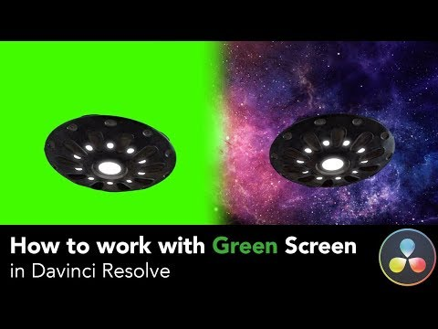 Davinci Resolve: How to work with Green Screen aka chroma key