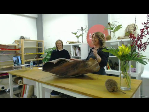 Natural Structures in Floristry | Bloom TV LIVE 29/8/16