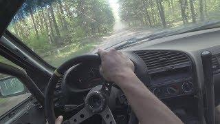 BMW E36 328i #SHORT FILM #POV #FOREST #NO MUSIC