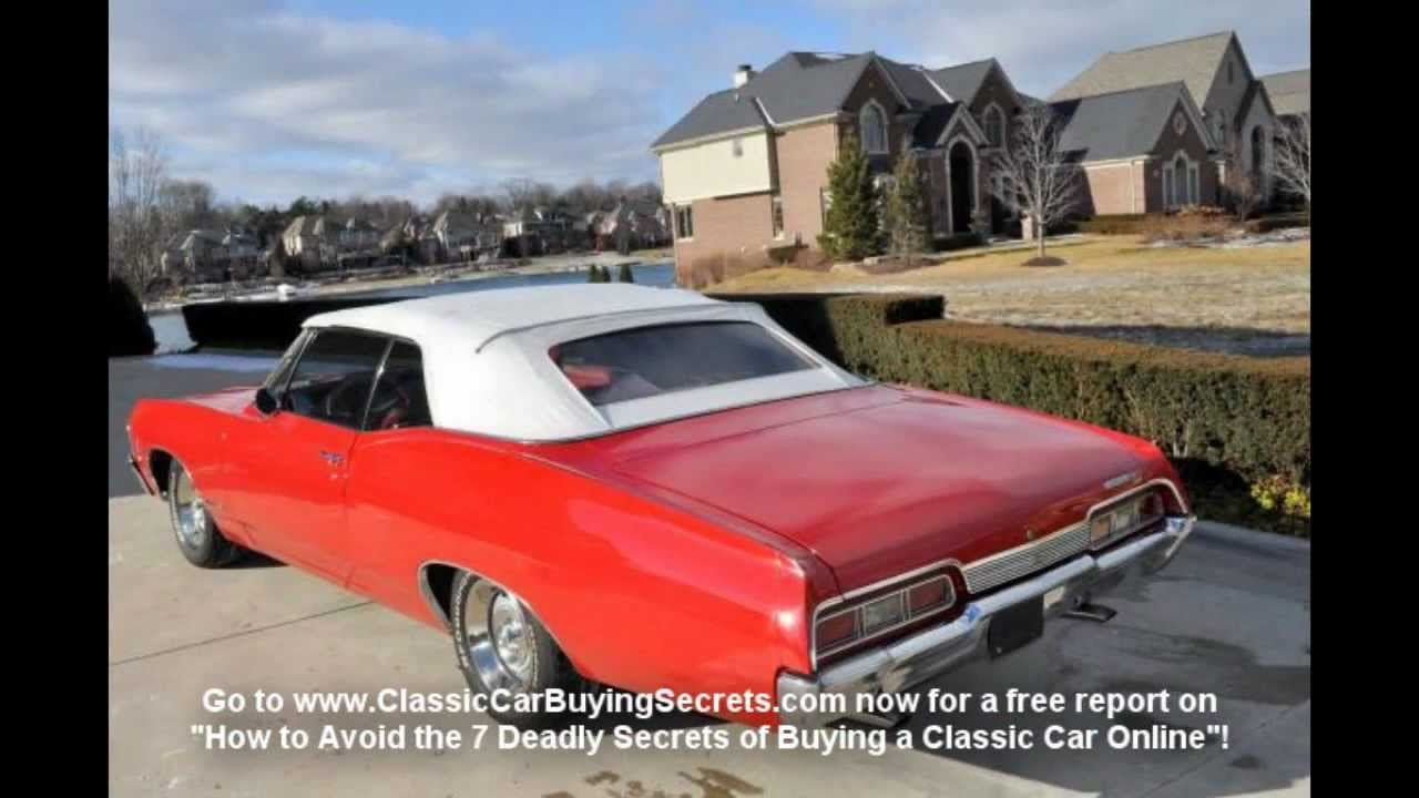 Convertible 1967 chevy impala convertible for sale : 1967 Chevy Impala Convertible Classic Muscle Car for Sale in MI ...