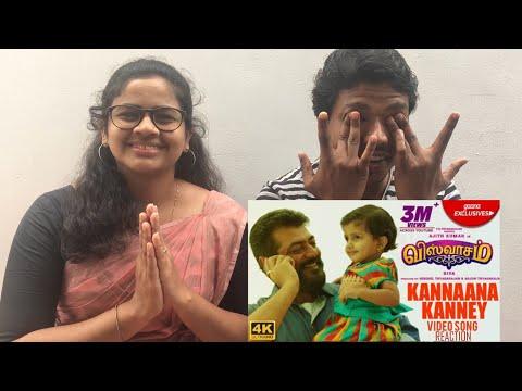 Kannaana Kanney Video Song REACTION By Malayali THALA Fans | Viswasam | Ajith Kumar, Nayanthara