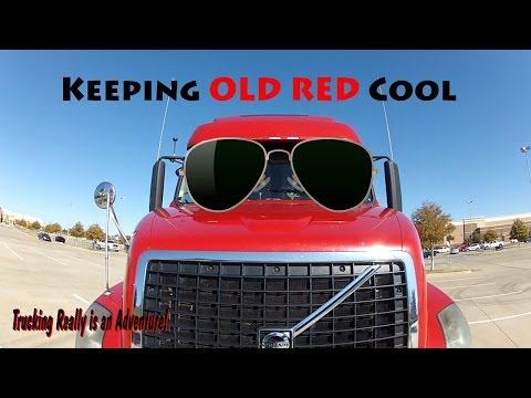 Keeping Old Red Cool