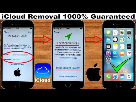 How To!! Remove & Delete iCloud Account || from iPhone 📲 iPad || Any iOS Version 2017✔️