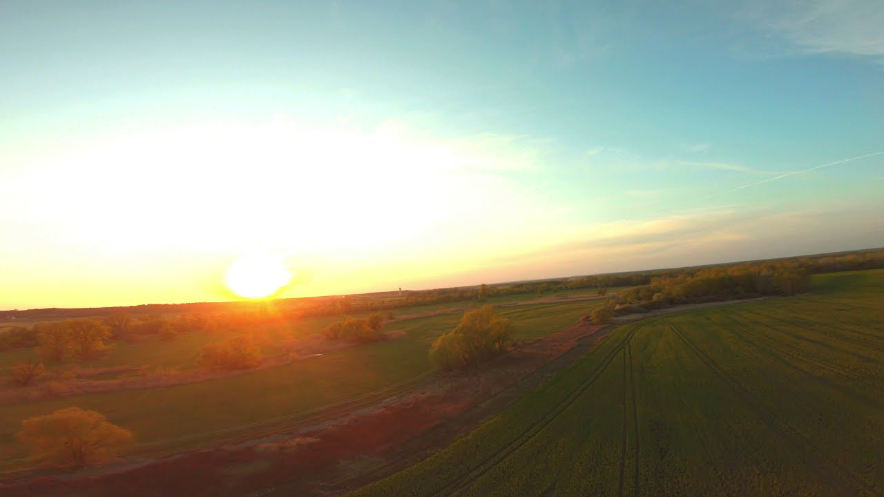 Flying at sunset / fpv картинки