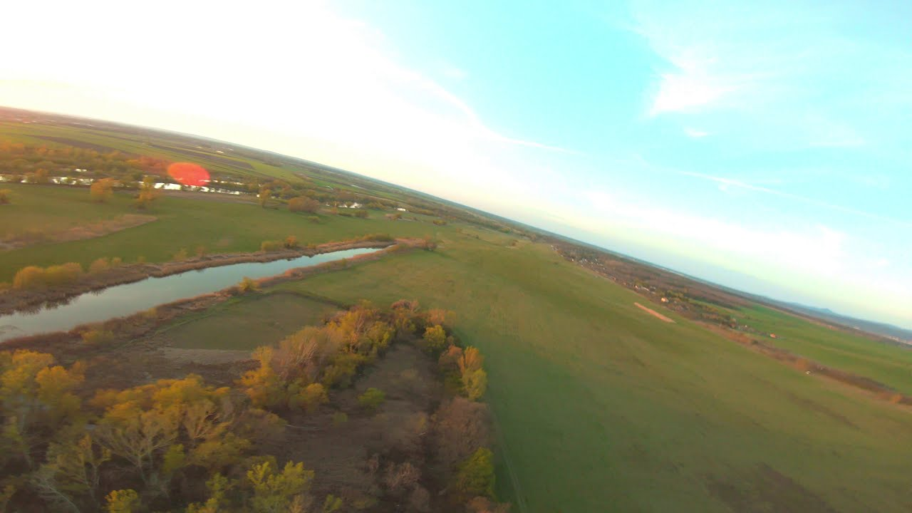 Flying at sunset / fpv фото