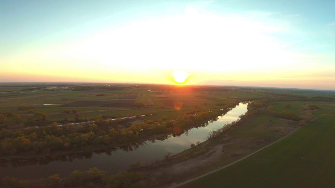 Flying at sunset / fpv фотки