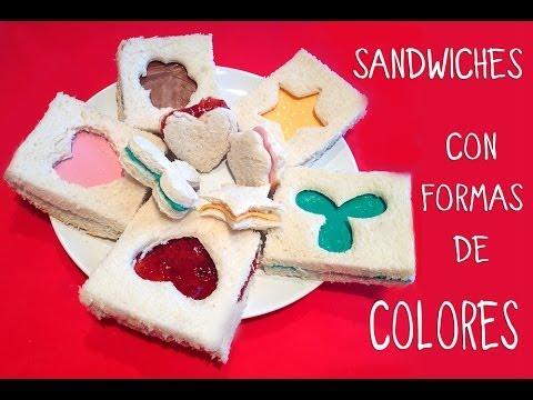 Meriendas f ciles y rapidas para ni os sandwiches con - Reposteria facil y rapida ...