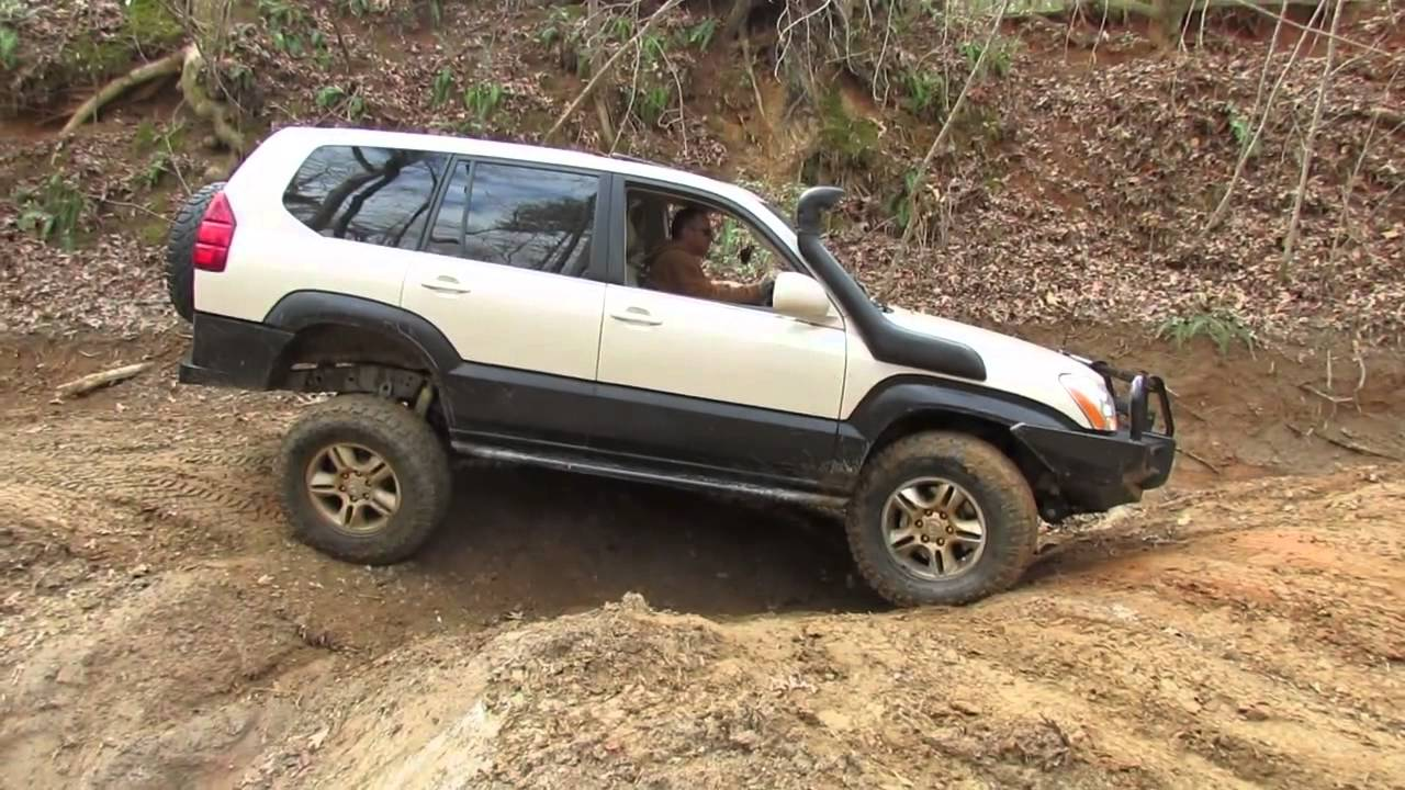 Lifted GX470 Off Road