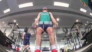 Irish Rugby TV: Ireland Forwards In The Gym