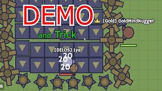 MooMoo.io -  Demo and trick | ft. Lya (TUTORIAL)