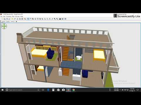 12X30 three side pack home design video by build your dream house