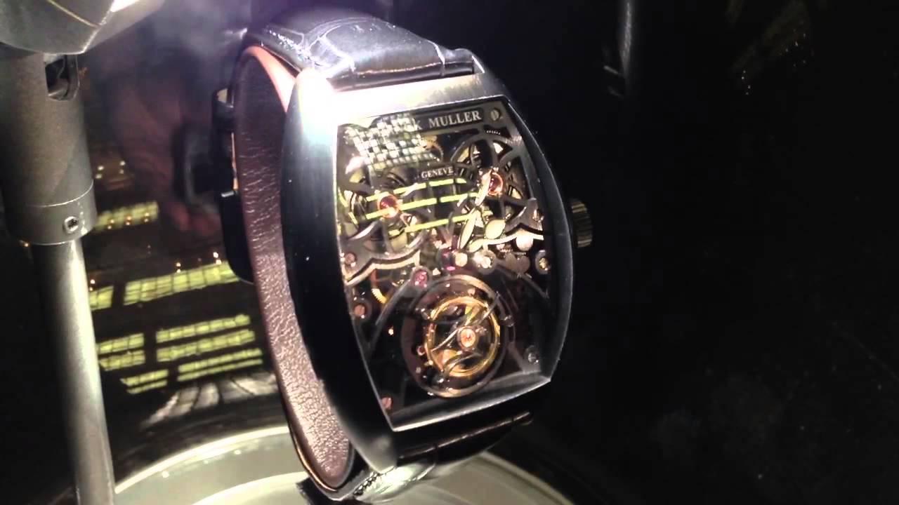 the best attitude 3f08b 3526e フランクミュラー 時計 トゥールビヨン FRANCK MULLER Tourbillon Watch