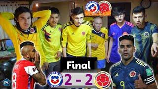 Chile 2 Colombia 2 | Eliminatorias Qatar 2022 Conmebol | Reacciones Amigos | Club de la Ironía