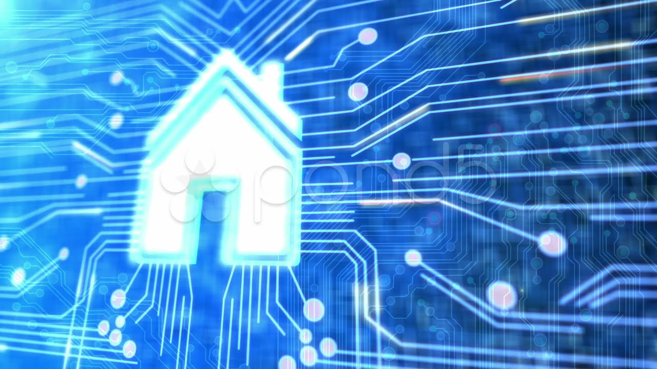smart home technology. stock footage - youtube