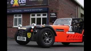Caterham Vinyl Wrap By Excel Colour Print