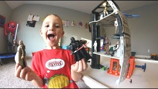 Father & Son GET AMAZING PLAYSET / The Death Star!