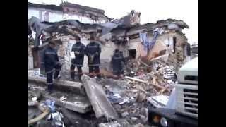 Взрыв дома в Запорожье. Посёлок Леваневского.