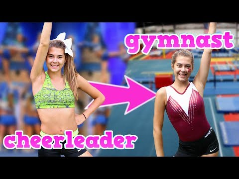 Turning a Cheerleader into a Gymnast!