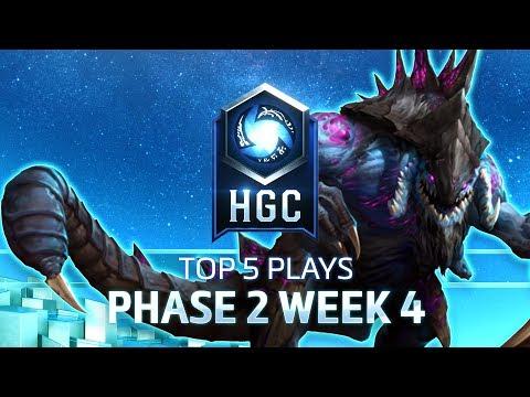 HGC Top 5 Plays Phase 2 Week 4
