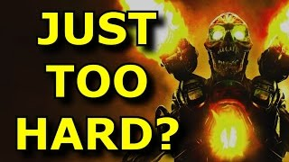 TOP 10 Games With The HARDEST Hard Modes!
