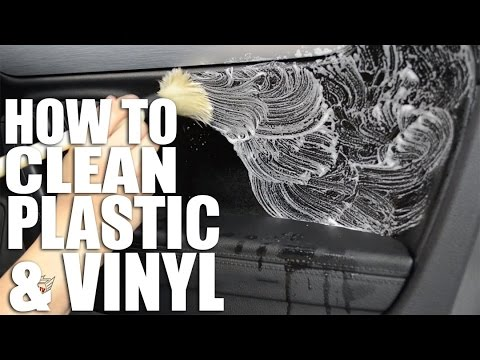 How to Clean Your Car Interior Plastics & Vinyls