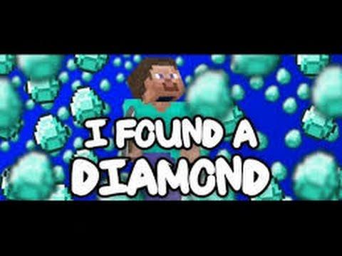I found a diamond lyric video