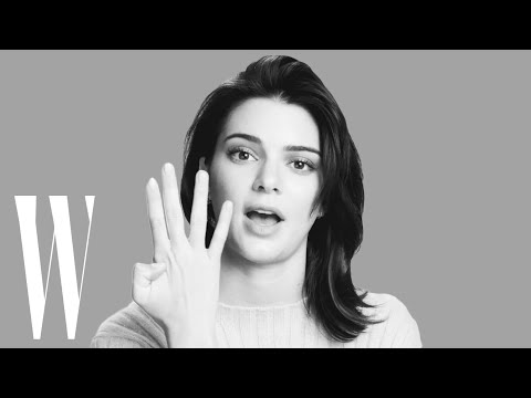 Kendall Jenner on Her First Kiss, Her Girl Crush, and Her Secret Talent | Screen Tests | W Magazine